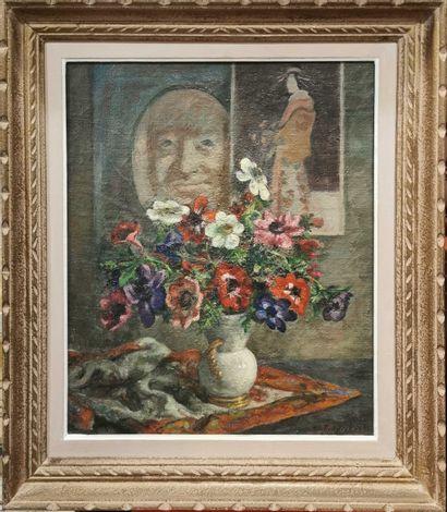 Sigard Fredriksen (1907-1986)  Bouquet de...