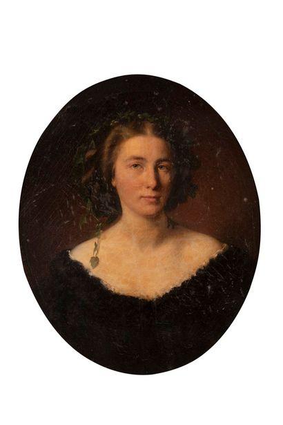 OEKONOMOU Aristidis, 1823-1887  Jeune femme...