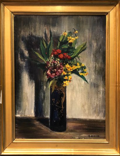 SEBIRE Gaston (1920-2001)  Bouquet de fleurs...