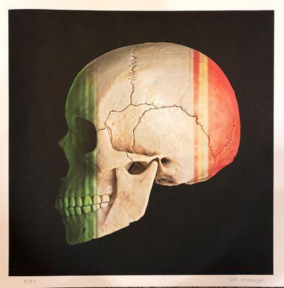 MR STRANGE  Skull Italia  sérigraphie  signée...