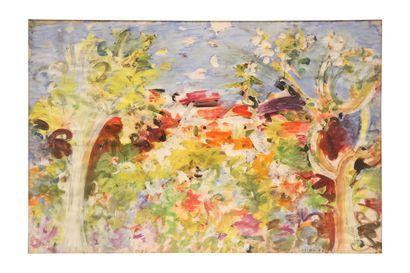 LAMBA BRETON Jacqueline, 1910-1993  Paysage,...