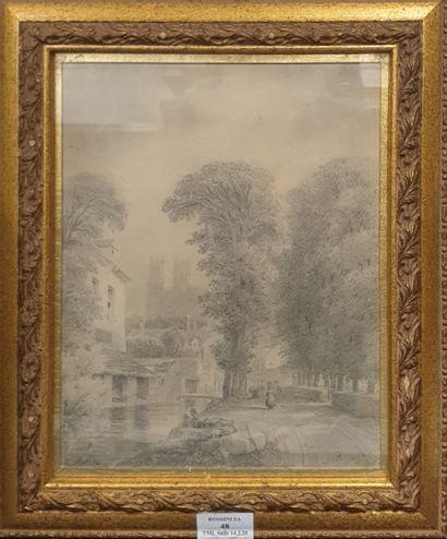 KELLIN Nicolas Joseph, 1789-1858,  Chemin...