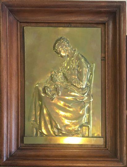 CHARPENTIER Alexandre (1856-1909))  Mère...