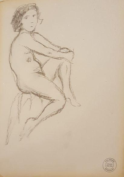 SORLAIN Jean (1859-1942) [Paul Denarié dit]  Nus féminins  ensemble d'une trentaine...