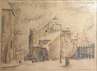LAVAL Fernand, 1886-1966,  La maison de Mimi...