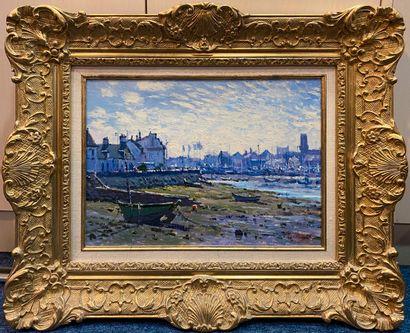 DIDIER Luc (1954) Le port du Guilvinec huile...