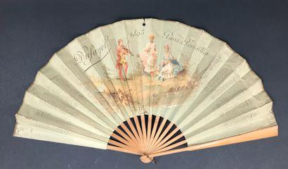 Dufayel, Éventail calendrier, 1893  Éventail...