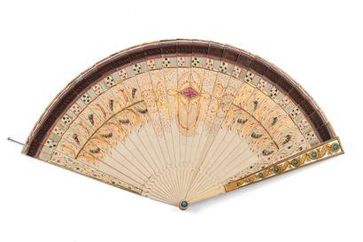 Éventail - carnet de bal, vers 1825-1830...