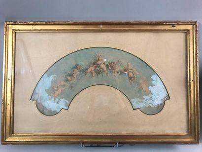 Tony Faivre (1830-1905), Amours en bosquets,...