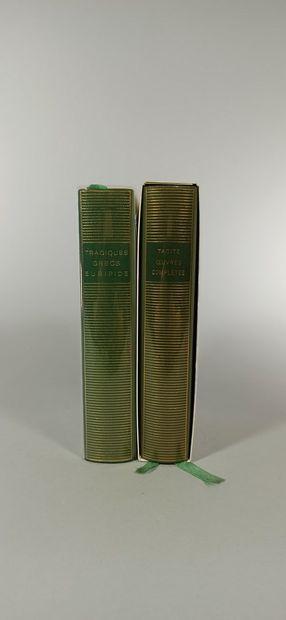 BIBLIOTHEQUE DE LA PLEIADE  TACITE 1 vol....
