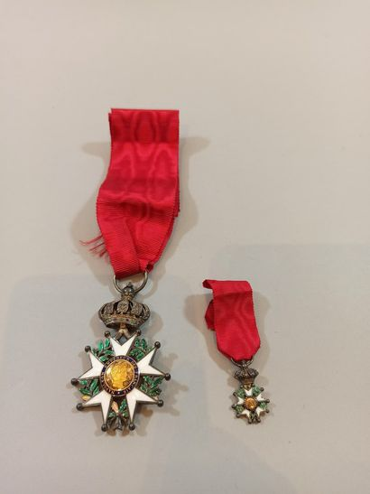 Knight's Cross of the Legion of Honour.  Deluxe...