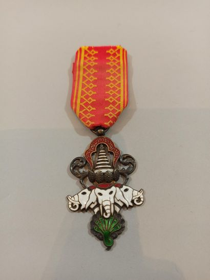 LAOS. Order of the Million Elephants and...