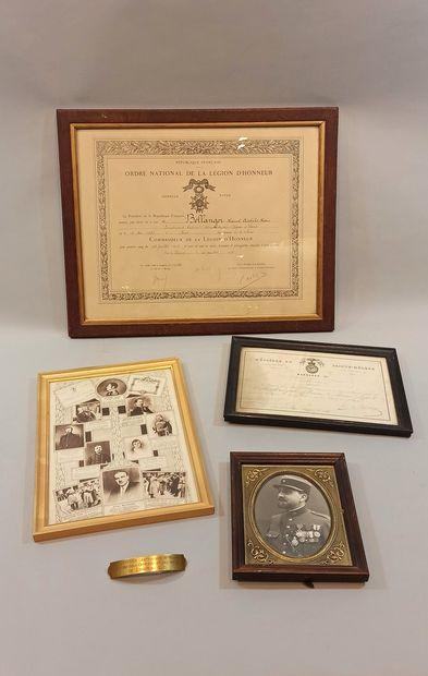 Souvenirs de la famille Bellanger dont:  -...