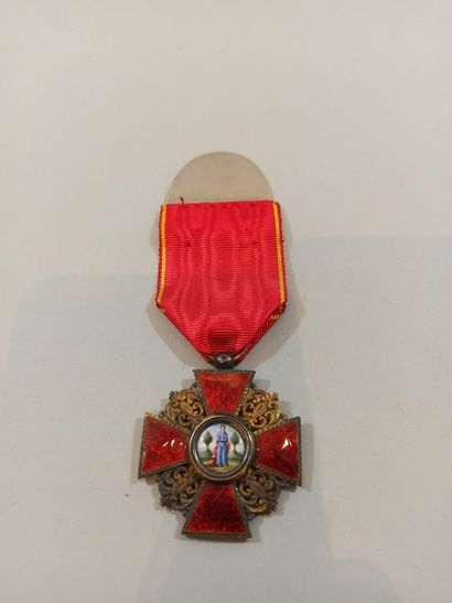 4th class cross of the Imperial Order of...