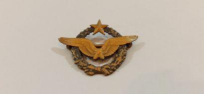 Pilot Badge  Bronze  N°13542    An ADRIAN...