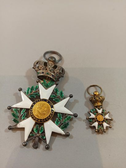 Knight's Cross of the Legion of Honour  Silver,...