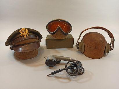 Ensemble pour pilote américain : une casquette...