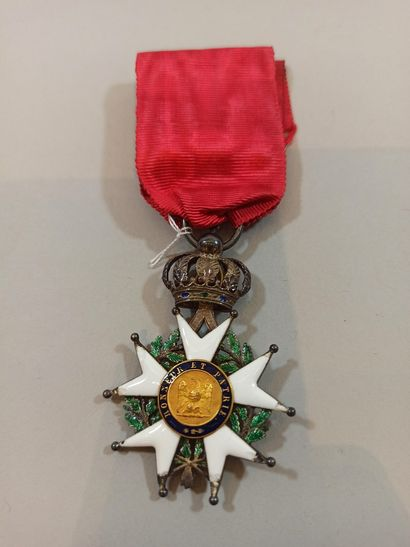 Knight's Cross of the Legion of Honour.  Silver....