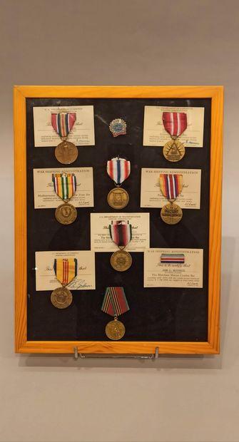 Souvenirs de John J Mc CORMICK de la marine...