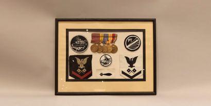 Grouping d'un Marin de l'US Navy : 5 décorations,...