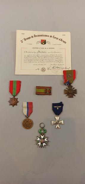 Souvenirs d'un maréchal des logis du 2e G.R.C.A...