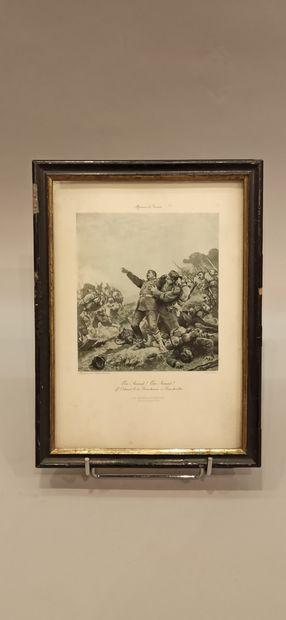 10 gravures sur le Premier et Second Empire:  Le Maréchal Masséna. Le Général Moreau...