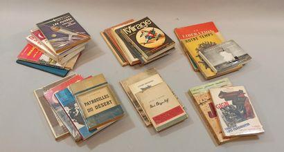 2eme G.M. et autres  Fort lot de livres,...