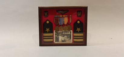 Grouping du lieutenant Francis L. RIMBACH,...