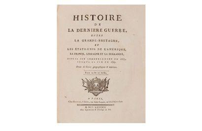 [LEBOUCHER (Odet-Julien)]. Histoire de la...