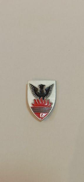 Insigne 6e régiment de chasseurs Afrique...