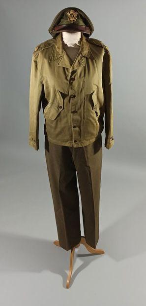 Uniforme de major de la 9th Air Force comprenant...