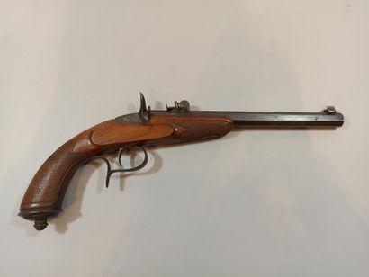 Pistolet de salon systeme FLOBERT.  Cal 5,5....