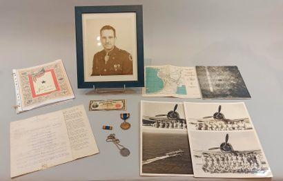 Souvenirs d'aviateurs américains: Décoration,...