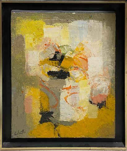 CALMETTES Jean-Marie, 1918-2007,  Composition,...