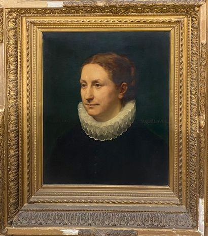 CLAUDE Georges Victor, 1854-1922  Femme à...