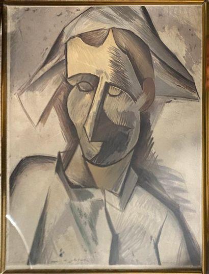DESCHAMPS Henri, 1898-1990, d'après PICASSO...