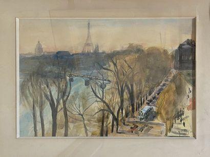 CLAIRIN Pierre Eugène, 1897-1980  Paris,...