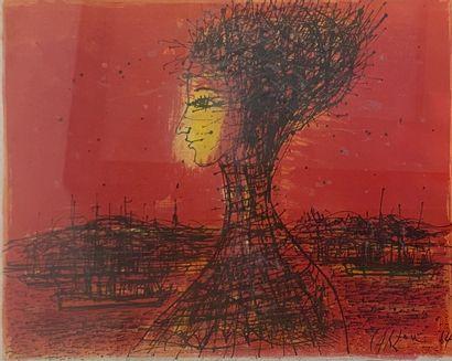CARZOU Jean, 1907-2000 Salomé, 1964 lithographie en couleurs, signée et datée en...