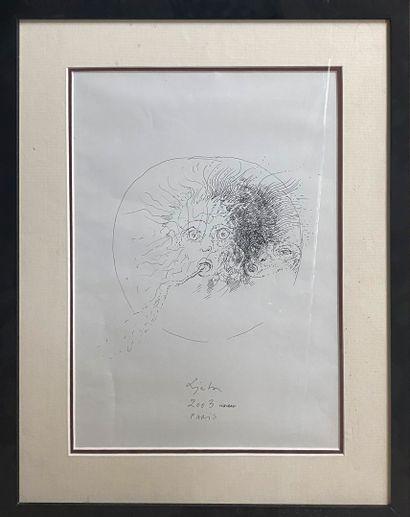 LJUBA, 1934-2016   Medusa, Paris, octobre...