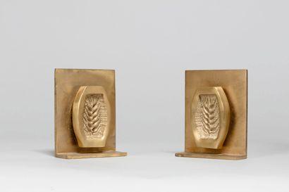LIBERAKI Aglaé, 1923-2014  Épis  deux sculptures...