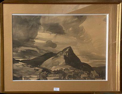 DECARIS Albert, 1901-1988  Ma montagne, 1926...