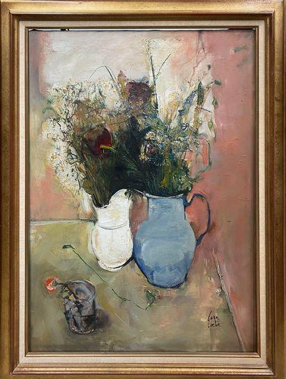 CARA COSTEA Philippe, 1925-2006  Les bouquets...