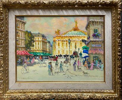 BOUDET Pierre, 1915/25-2010,  L'avenue de...