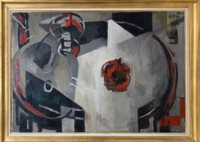 CALMETTES Jean-Marie, 1918-2007,  Composition...
