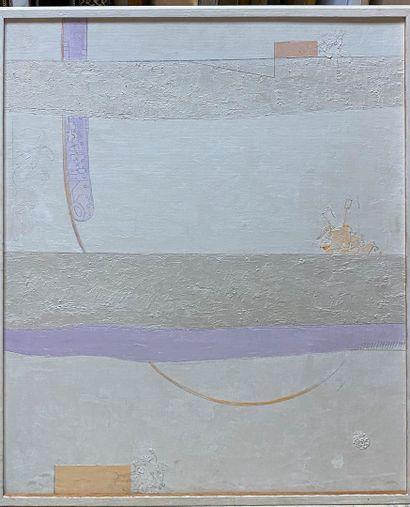 PELAEZ Antonio, 1921-1994  Composition  peinture...