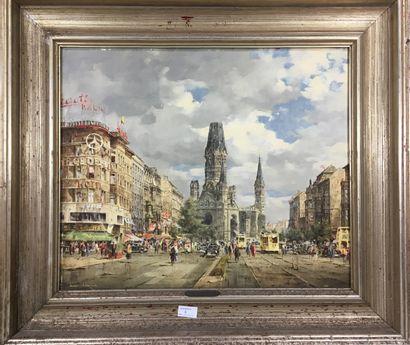 BARTSCH Reinhard, 1925-1990  L'église du...