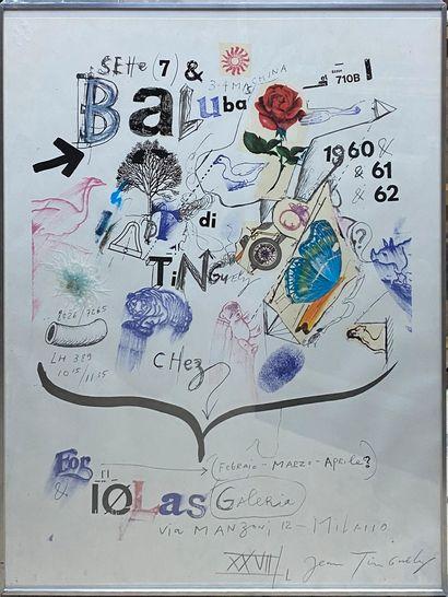 TINGUELY Jean, 1925-1991,  Chez Iolas Galeria,...