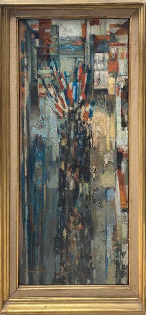PETIT Jacques, né en 1925  Le défilé, 1959...