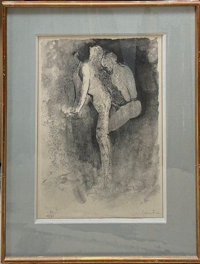 FINI Léonor, 1907-1996  Curiosa  deux lithographies n°18/40 et 98/110 (insolation),...