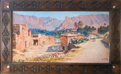 ORTEGA José, 1877-1955  El-Kantara  huile...
